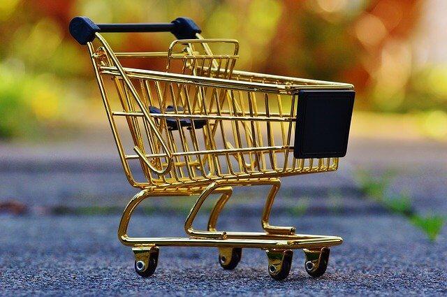 ショッピングに使うカート